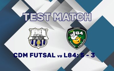 CDM Futsal L84 Volpiano 5 – 3