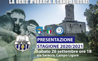 Presentazione stagione 2020 / 2021